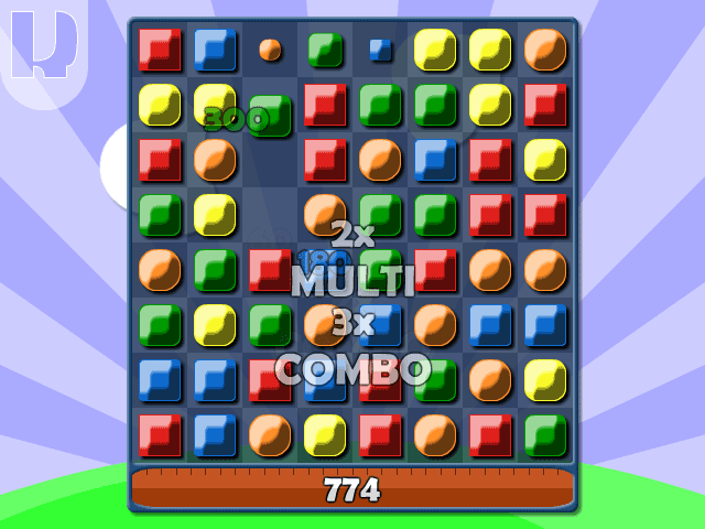 A TriPop game screenshot